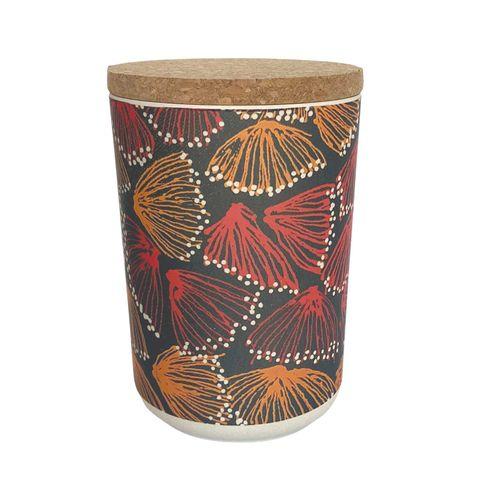 "Bamboo Food Canister 6""-Selina Teece"