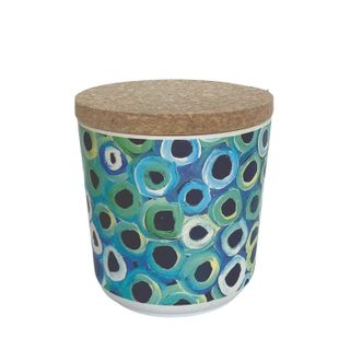 "Bamboo Food Canister 4""-Lena Pwerle"
