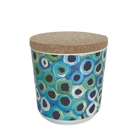 """Bamboo Food Canister 4""""-Lena Pwerle"""