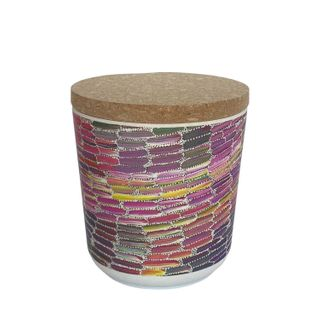 "Bamboo Food Canister 4""-Jeannie Mills"