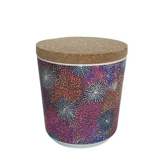 "Bamboo Food Canister 4""-Katie Morgan"