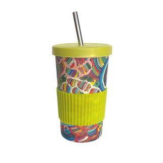 Large Tumbler Straw/Lid-Betty Club