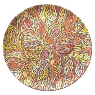 Bamboo Plate Single -Sacha Long