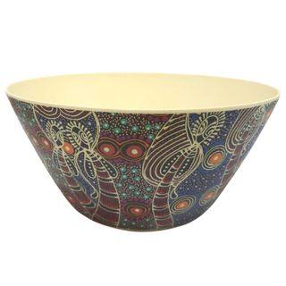 Bamboo Salad Bowl-Colleen Wallace
