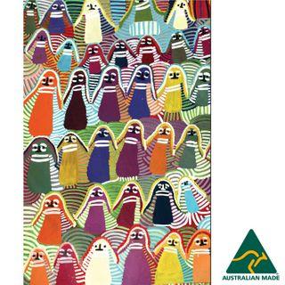 Microfibre Tea Towel - Angelina Ngale