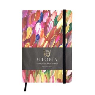 PU Leather Journal - Gloria Petyarre