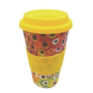 Bamboo Eco Coffee Cup - Lena Pwerle