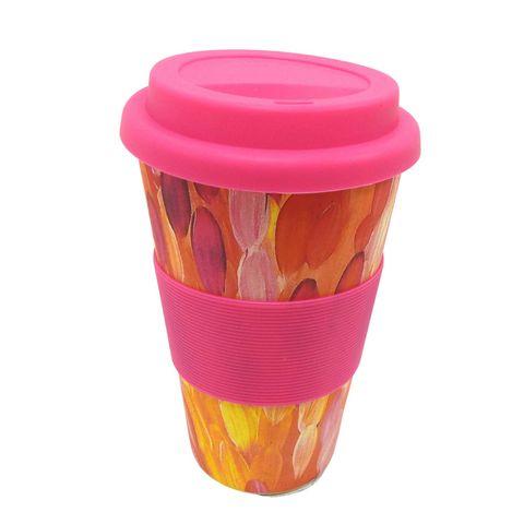 Bamboo Eco Coffee Cup - Gloria Petyarre*