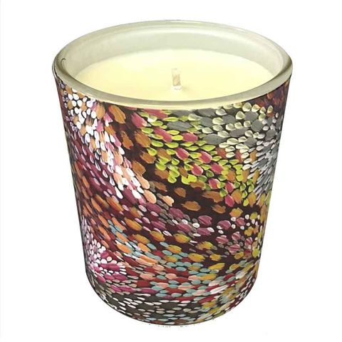 Natural Soy Wax Candle -Janelle Stockman