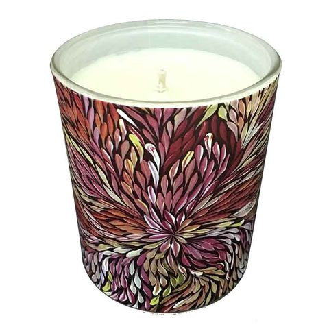 Natural Soy Wax Candle - Sacha Long