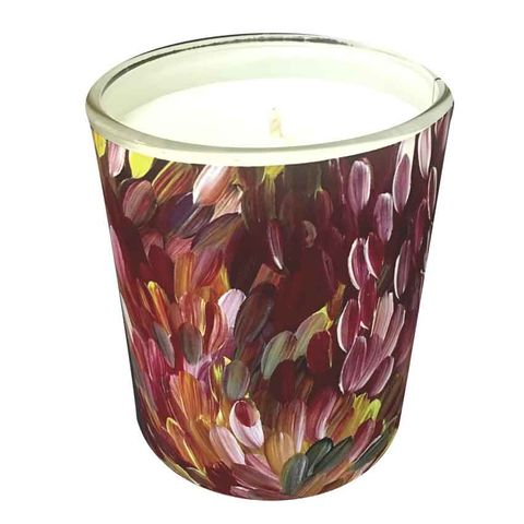 Natural Soy Wax Candle - Gloria Petyarre