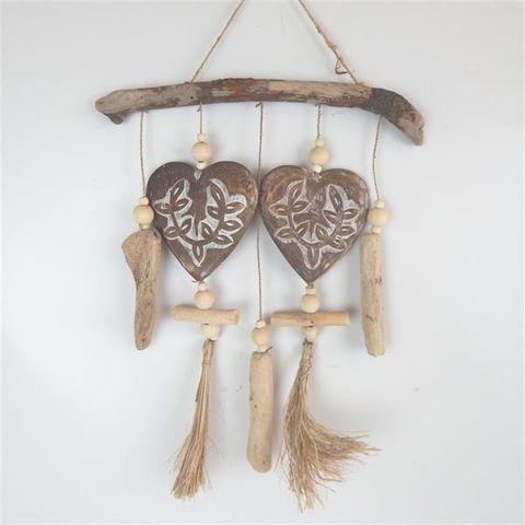Aman Deco Heart Mobile 35cm x 45cm high
