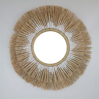 Aman Mirror w Cotton 60cm dia / Mirror 24cm