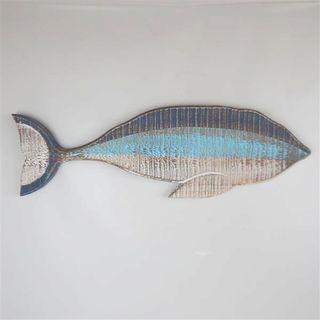 Recycled Wood Fish 25cm x 80cm long