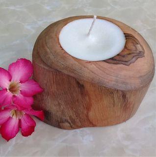Kalu Candleholder Chunky 12cm x 8cm high