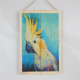 Exotic Bird Cockatoo 20cm x 30cm high