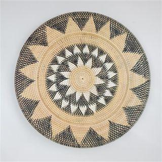 Lombok Deco Plate Multicoloured 60cm dia