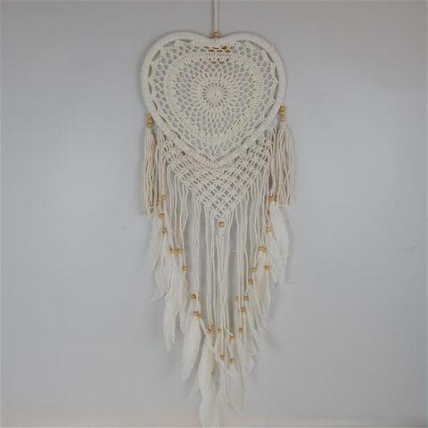 Gypsy Heart Dreamcatcher w Fringe 32cm x 90cm long