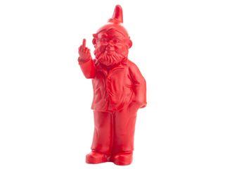 Pop Gnome w Finger Red 35cm high