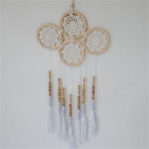 Gypsy Multi Dreamcatcher 4 Rings 27cm x 60cm long