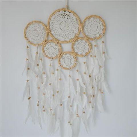 Gypsy Multi Dreamcatcher 6 Rings 40cm x 70cm long