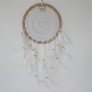 Gypsy Feather Dreamcatcher 27cm x 60cm long