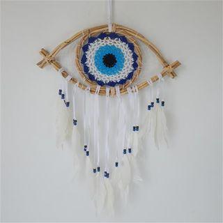 Gypsy Eye Dreamcatcher Lge 50cm x 16cm/55cm long