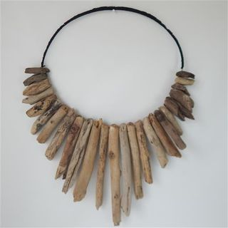Driftwood Wall Necklace 60cm wide x 75cm high