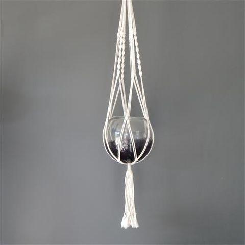 Macrame Plant Hanger Strand Single 100cm long