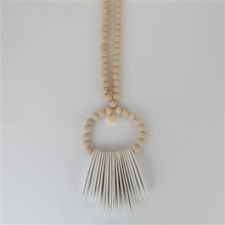 Indi Wall Necklace Cream 20cm x 70cm long