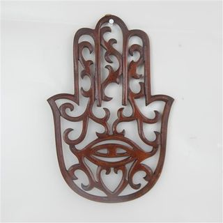 Carved Hand of Life Brown 20cm x 30cm