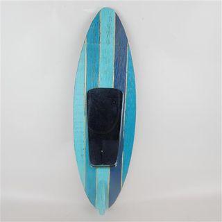 Surfboard Mirror Aqua 15cm x 50cm high