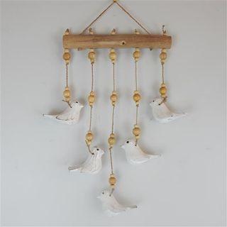 Ganti Mobile Birds Whitewash 23cm x 50cm long