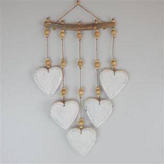 Ganti Mobile Heart Whitewash 23cm x 50cm long