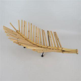 Bamboo Leaf Bowl 30cm x 60cm x 15cm high