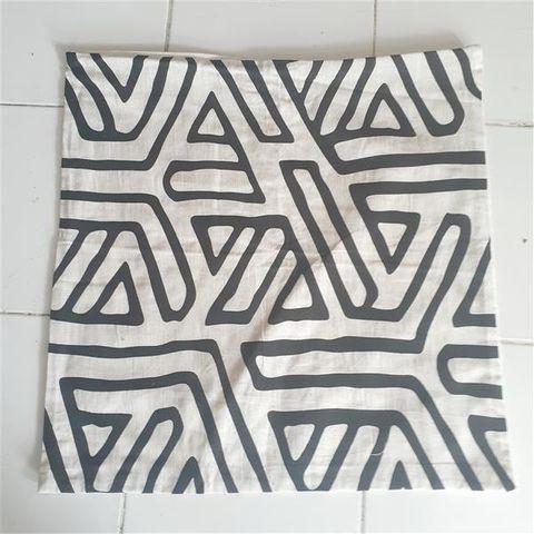 Cushion Cover Linen Lines 40cm x 40cm