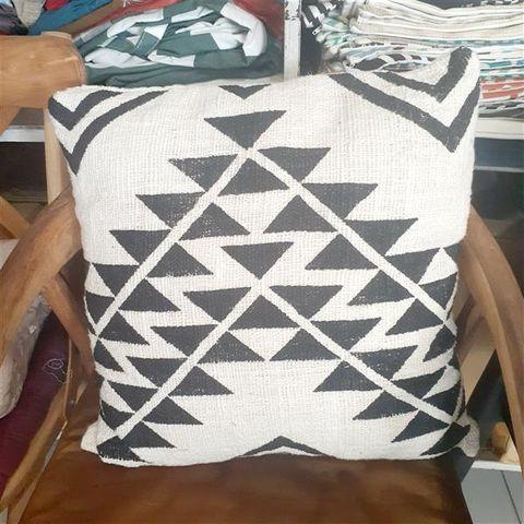 Cushion Cover Cotton Triangles 50cm x 50cm