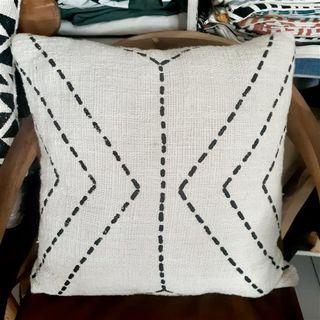 Cushion Cover Cotton Dashes 50cm x 50cm