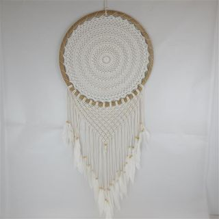 Boho Macrame SIngle Dreamcatcher 50cm x 120cm long
