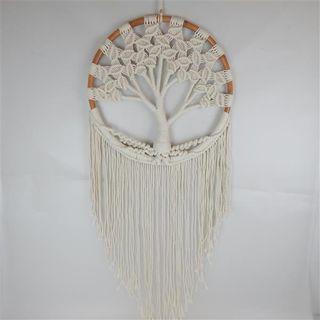 Boho Tree of Life Cream 50cm x 120cm long