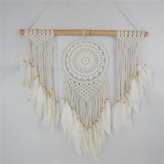 Boho Macrame Dream Hanging Cream 60cm x 60cm