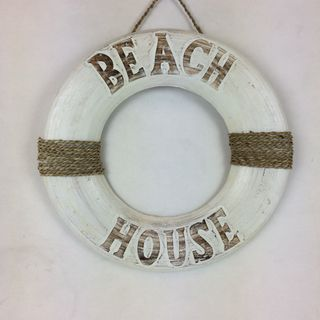 Beach House Ring White 40cm dia