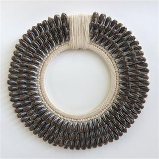 Kora Shell Necklace Brown 40cm dia
