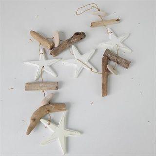 Driftwood Strand Starfish Whitewash 90cm long