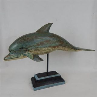 Arca Wooden Dolphin 65cm x 40cm high