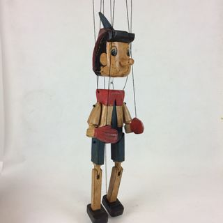 Vintage Pinocchio Puppet 50cm high