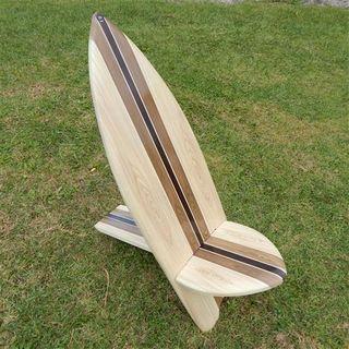 Surfboard Chair Natural 85cm x 100cm high