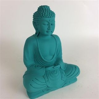 Matte Buddha Teal 20cm high