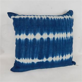 Bondi Tiedye Cushion Cover Blue 60cm x 60cm