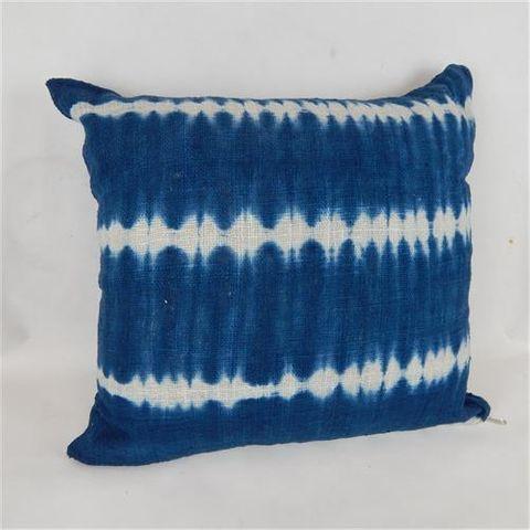 Bondi Tiedye Cushion Cover Blue 60cm x 60cm